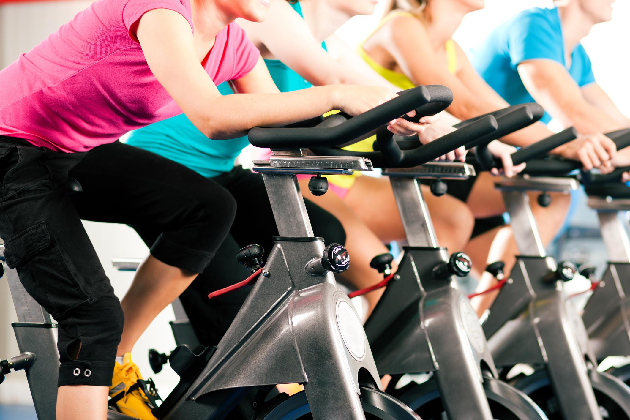 5 benefícios do spinning